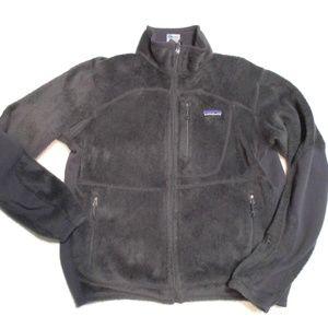 Patagonia Gray Fleece Jacket Men's XS
